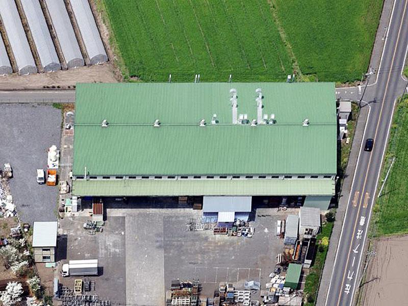 広大な工場敷地